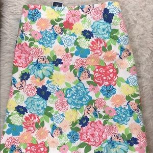 NWT Plus size Talbots floral skirt size 24